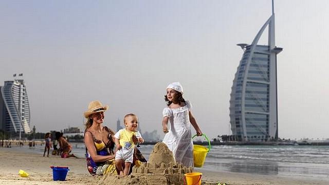 touristes à Dubai-1