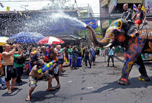 Songkran-Bangkok