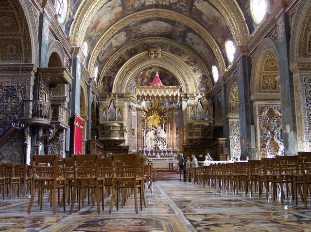 malte_co-cathédrale Saint-Jean