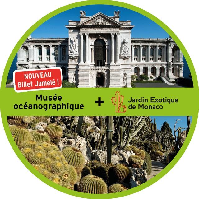 Jardin Exotique monaco-musée océanographique-biller jumelé
