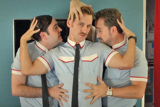 Will not Lesbian air stewardesses idea