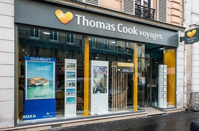 thomas cook agence de voyage