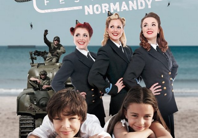 AFFICHE- D-Day Festival Normandy