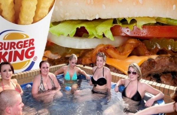 En Finlande, Burger King ouvre un sauna dans son restaurant