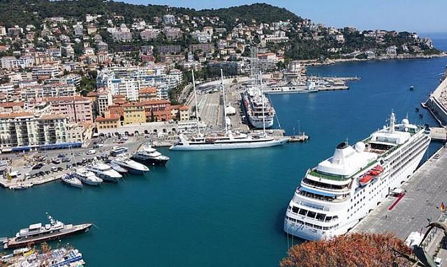 Les ports de cannes et nice villefranche attendent croisi ristes le 20 mai prochain - Port de cannes capitainerie ...