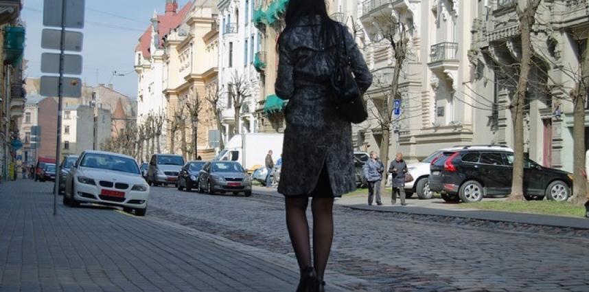 Comment les cent pas à Riga, c'est sympa !