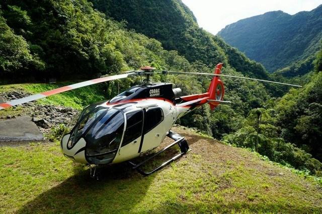 Corail Hélicoptères,la réunion