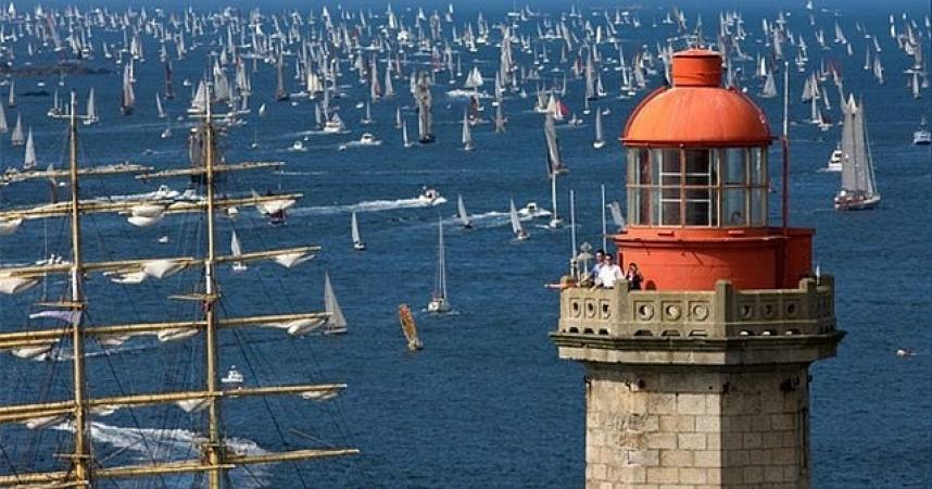 Brest : A bâbord, à tribord et à ras bord  !