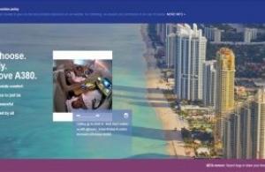 Un site web dédié pour les amoureux de l' A380