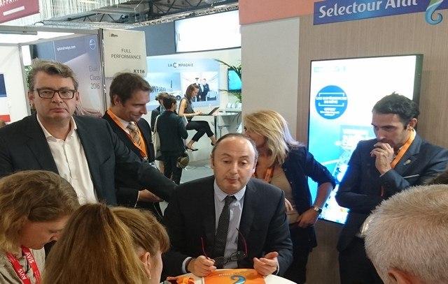 Laurent Abitbol-president Selectour afat-iftm top resa 2016