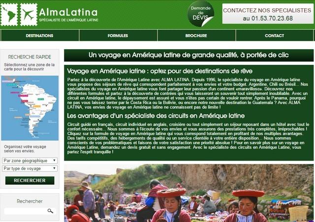 alma latina-site web