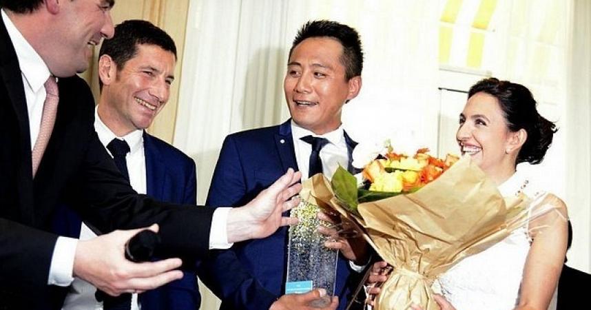 La délégation touristique Côte d'Azur a réussi en Chine
