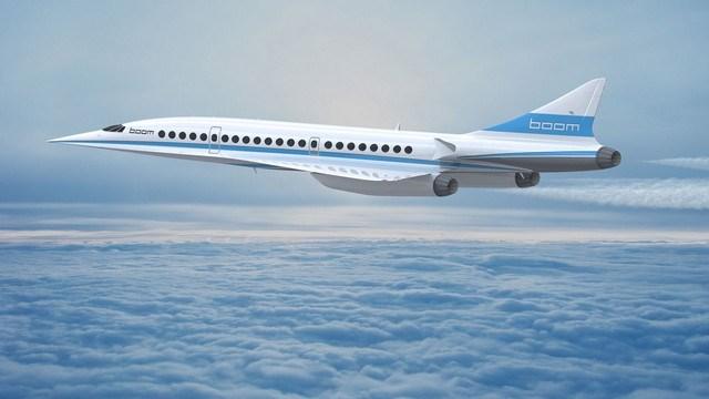 Richard Branson-Le Boom, futur successur du Concorde