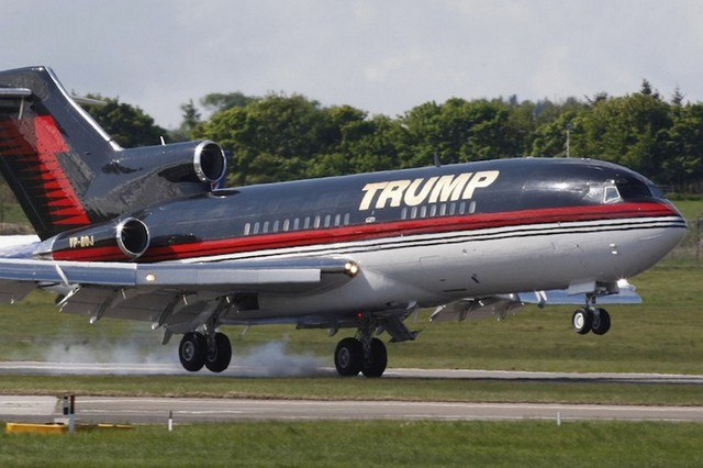 avion-prive-de-Donald-trump-7