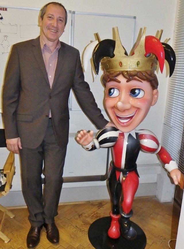 Nice-denis zanon et la mascotte