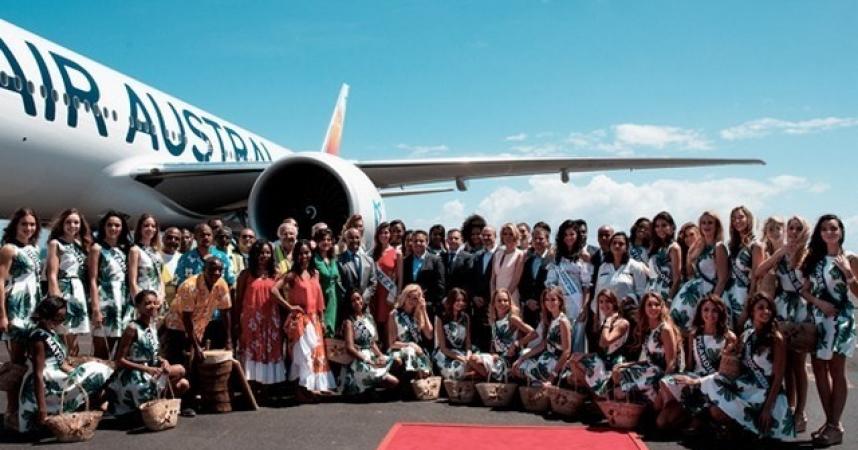 La Réunion accueille les candidates Miss France