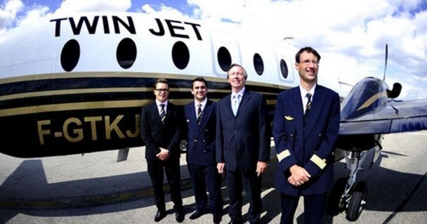 Reprise des vols Nice-Milan avec Twin Jet
