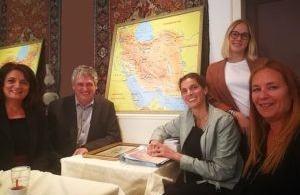 Travel Europe met l'Iran sur le Tapis