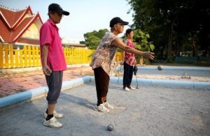 La Thaïlande qui chope les boules