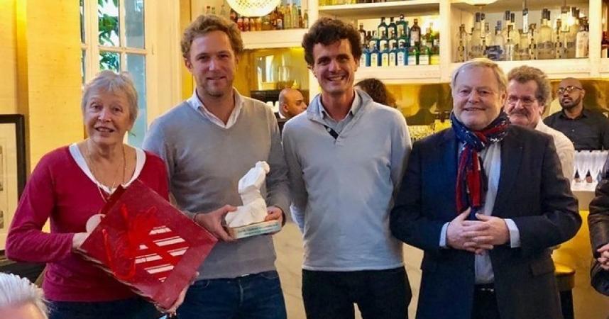 L' AFST décerne le prix Georges Toromanof à Double Sens