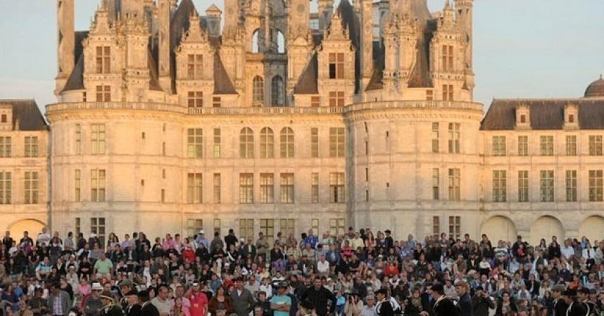 Le château de Chambord passe le million de visiteurs