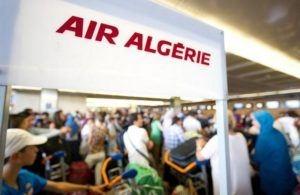 Air Algérie clouée au sol