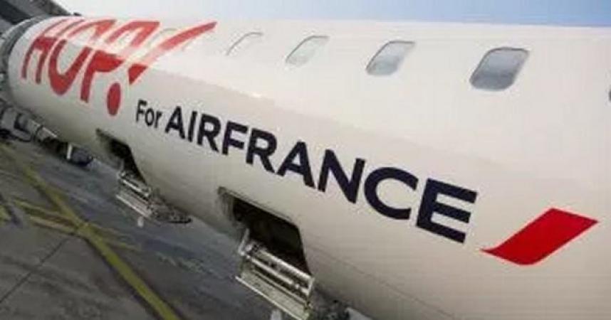 Air France lance son vol direct Toulon Genève