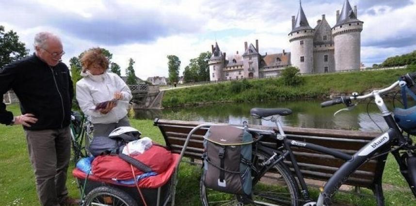 À vélo dans le Giennois