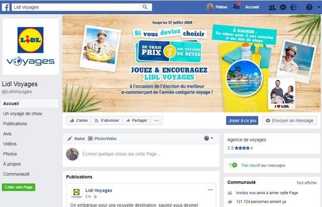 Facebook Lidl