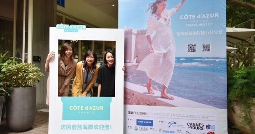 Côte d'Azur: forte progression des touristes asiatiques au 1er trimestre