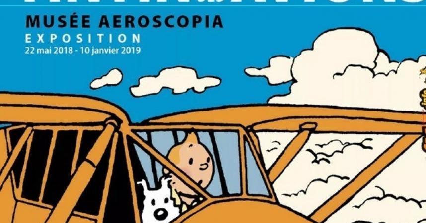 Jean Pierre Mas fait redécouvrir Tintin et ses avions