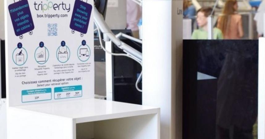 L'Aéroport de Nice propose un service de consigne pour les objets interdits en cabine