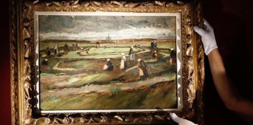 Un Van Gogh qui flambe à Paris