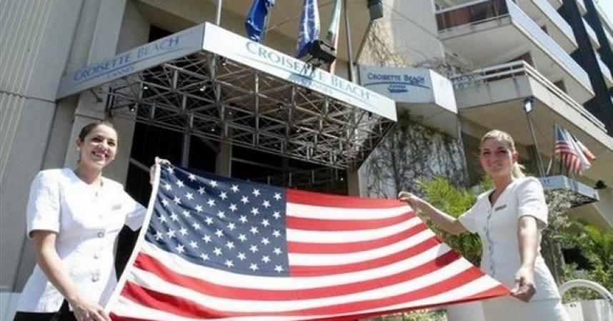 Les touristes américains reviennent enfin sur la Côte d'Azur