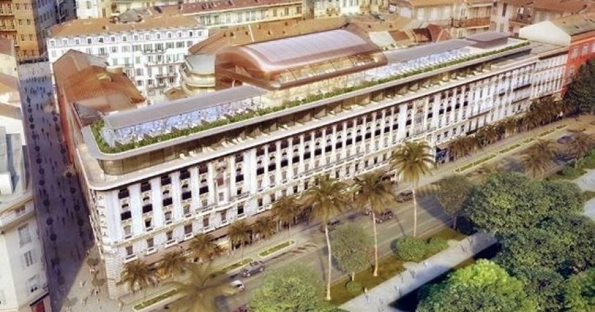 Nice: L'Hôtel Plaza fermé pour 18 mois de travaux