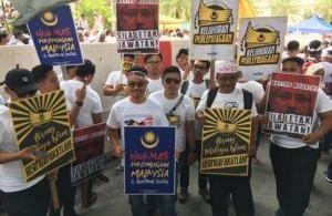 Des manifestations inquiétantes pour le tourisme en Malaisie