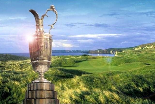 Les parties des Français et Woods — British Open